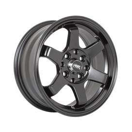 Pelek Nissan Mirage - HSR Tokyo Ring14 Semi Matte Black