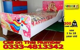 New Style Kids Single Bed for Girls Sale in Pakistan unique Design