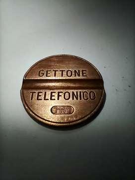 Gettone Telefonico |Super Rare Italian Telephone Token Coin| 1970 coin