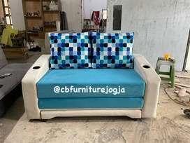 ready Stok sofa BED model new