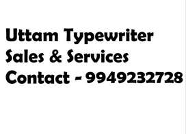 Typewriter sales and services