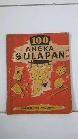 buku 100 aneka sulap jaman dulu