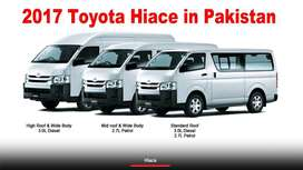 TOYOTA HIACE  2000 TO 2019 ON EASY INSTALLMENT IN KARACHI