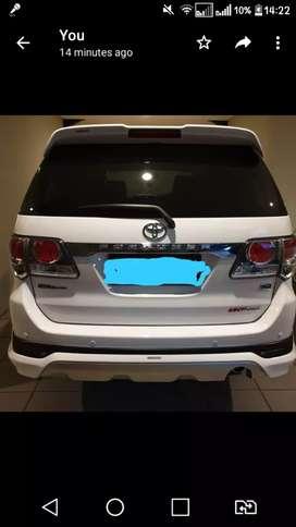 Toyota Fortuner diesel G TRD 2013 harga Rp. 295.000.000