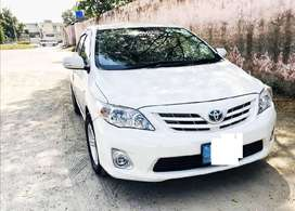 Toyota corolla gli model 2012 on easy installment