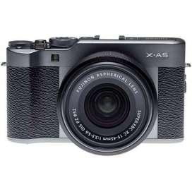 Fujifilm X-A5 with XC 15-45mm (Dark Silver) Ready Cash dan Kredit
