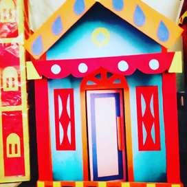 Rumah Barbie  cantik