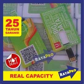 USB / Flashdisk Kartu Custom, Bentuk Model Card Cetak