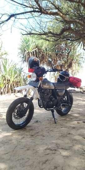 Yamaha scorpio custom scrambler trail vintage