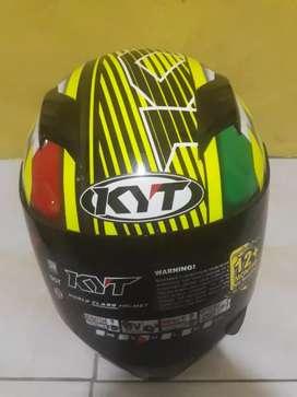 Helm KYT Full face wrna kuning