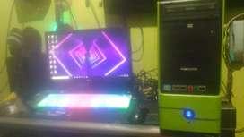 1 Sett PC Core i3 Ram 8GB+ LED 20 inc Normal siap pakai