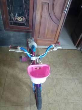 Sepeda mini wim cycle ukuran 16 siap pakai