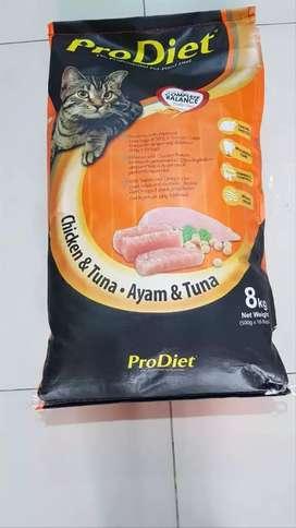 Makanan kucing 8 kg prodiet