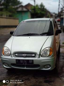 Jual mobil KIA Visto warna Hijau tahun 2003