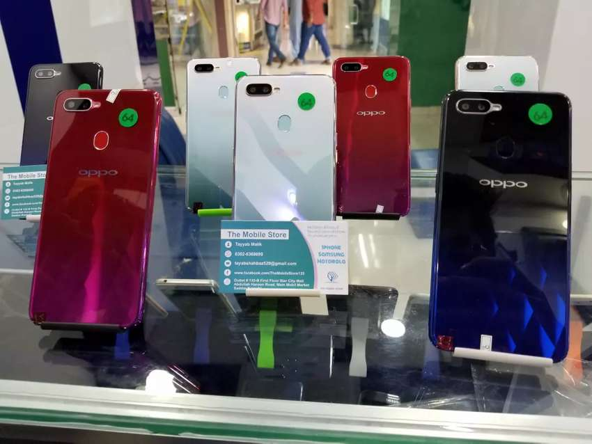 Oppo F5 and F9 4/64 & F9 pro 6/64 PTA Approved 0