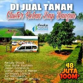 Dijual cluster kebun durian siap bangun free biaya surat2