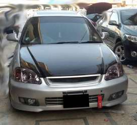 Body kits for Honda civic 2000 in Fiber Material