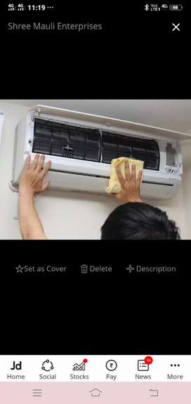 Installing AC and fitting