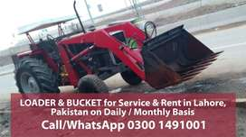 Tractor with Bucket for Use in Lahore