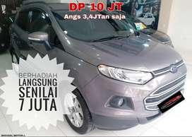 Ford Ecosport AT 2014 dp10 Jt Doank Bawa Plg Mobilnya KM 40RB ANTIK