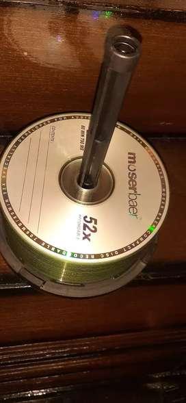 Moserbaer blank CD's