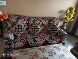 Sofa Sets 3+1+1 with Age 2yrs and maintain properly