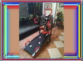 Treadmill Manual 6 Fungsi Massager / id 7880