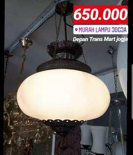 Lampu Gantung Antik Klasik Asli Kuningan