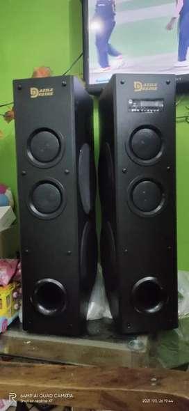 Dazzle Desire Multimedia Tower Speaker