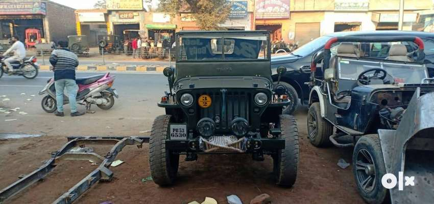Left hand drive military Willy jeep,5+1 gear, 0
