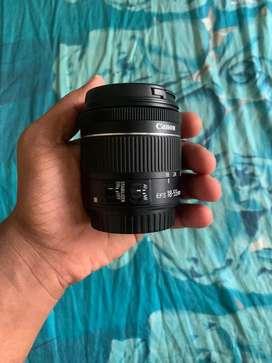 Canon 18-55 STM LENS