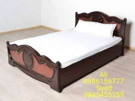 new Double Cot 4×6 without storage  price 4250 with box 6500