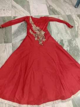 Red gown party wears