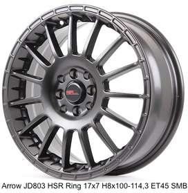 ARROW JD803 HSR R17X7 H8X100-114,3 ET45