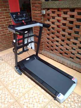 alat olahraga treadmil listrik 4 gerakan bisa cod