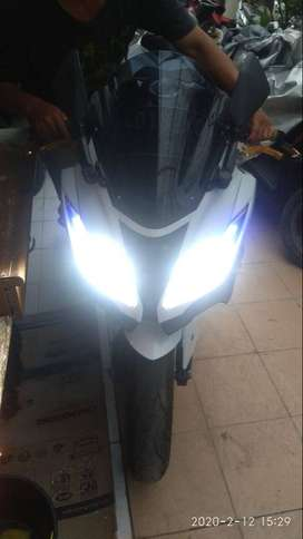 Ninja 250 ABS (EX250M) Warna Putih