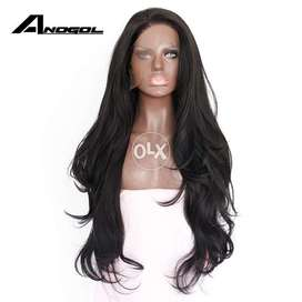 Female Wigs Short as well as Long Hairs (Lace Wig)