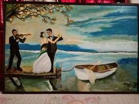Original handmade painting