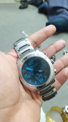 Brookiana branded watch Blue Dial