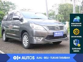 [OLX Autos] Toyota Kijang Innova 2.0 V Luxury A/T 2013 Abu - Abu