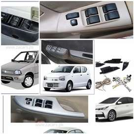 Power windows all car available original fitting Japanese motar switch