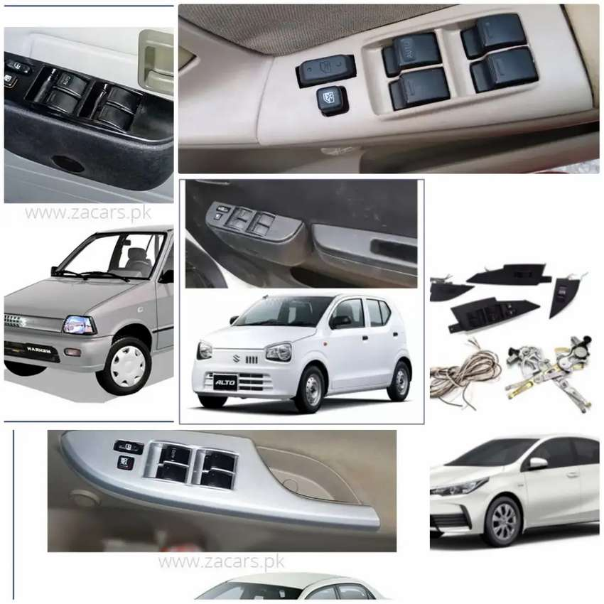 Power windows all car available original fitting Japanese motar switch 0