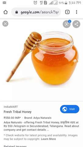 Fresh and pure honey at cheapest price available