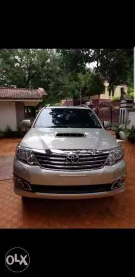 Toyota fortuner automatic in mint condition