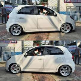 Velg racing Picanto march Datsun ring 17 work meister velg import