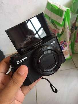 Canon G7X Mark II mulus no minus