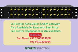 GSM Gateway On Rent Call Center Auto dialer, PRI Card With Best Price