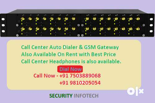 GSM Gateway On Rent Call Center Auto dialer, PRI Card With Best Price 0