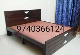 Fancy double cots are available with us
