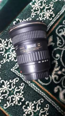 Tamron 17-35mm lens for Canon